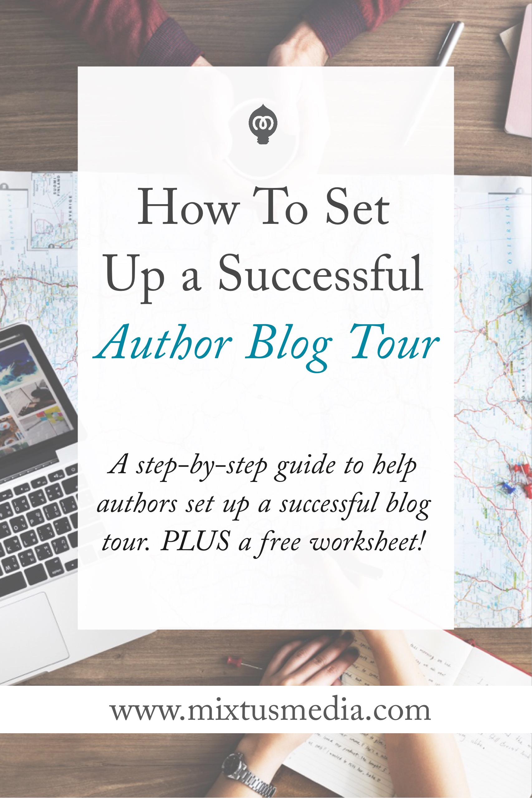 A step-by-step guide to help authors set up a successful blog tour. Plus a free worksheet!