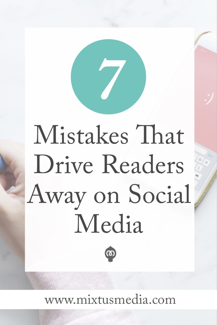 If you're struggling to grow your social media platform you might be making some crucial mistakes that can be easily fixed.  Book Marketing strategies, book marketing, social media, social media problems, social media for authors, social media strategies, social media tips
