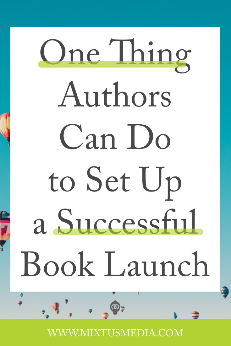 Figuring out the best way to launch your book can be a bit overwhelming. So I wanted to share with you the one thing I recommend authors do to set up a successful book launch. Book marketing tips, book launch tips, book release tips, book publishing ideas, pre order incentive ideas, self publishing tips, self publishing ideas, book marketing giveaway ideas,