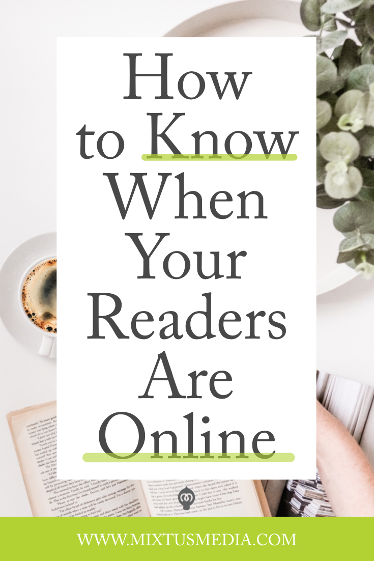Knowing when your readers are actually online can insure your posts are seen and you can see greater engagement. Book Marketing Tips, Book Marketing Strategies, Social Media Strategies, Social Media tips, What Authors should Post, Author social media, self publishing tips, book publishing strategies, social media post ideas, self publishing tips, book publishing tips, Instagram tips, Instagram strategy