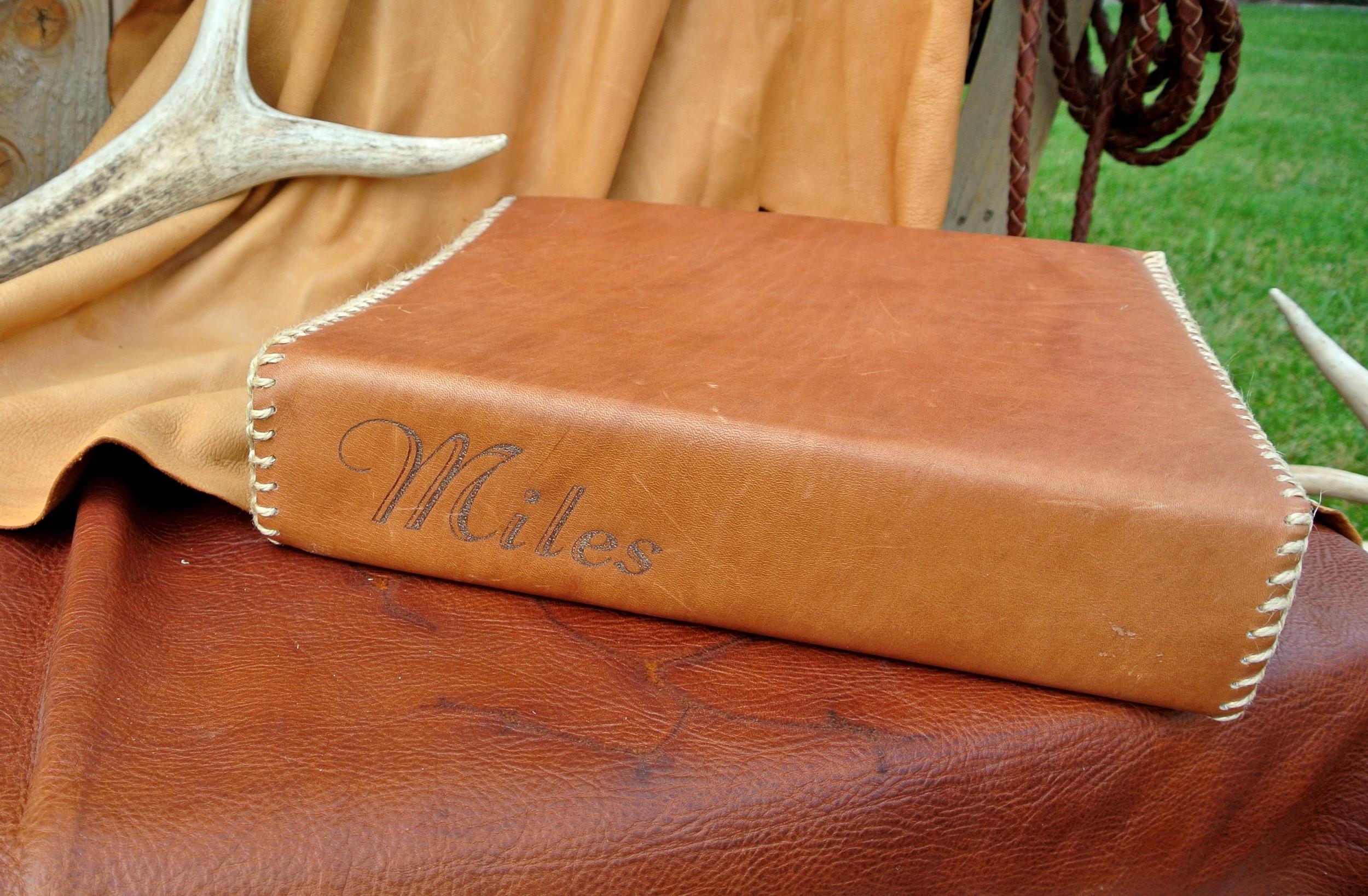 Circle M-Brand Leather Binder - Miles.JPG