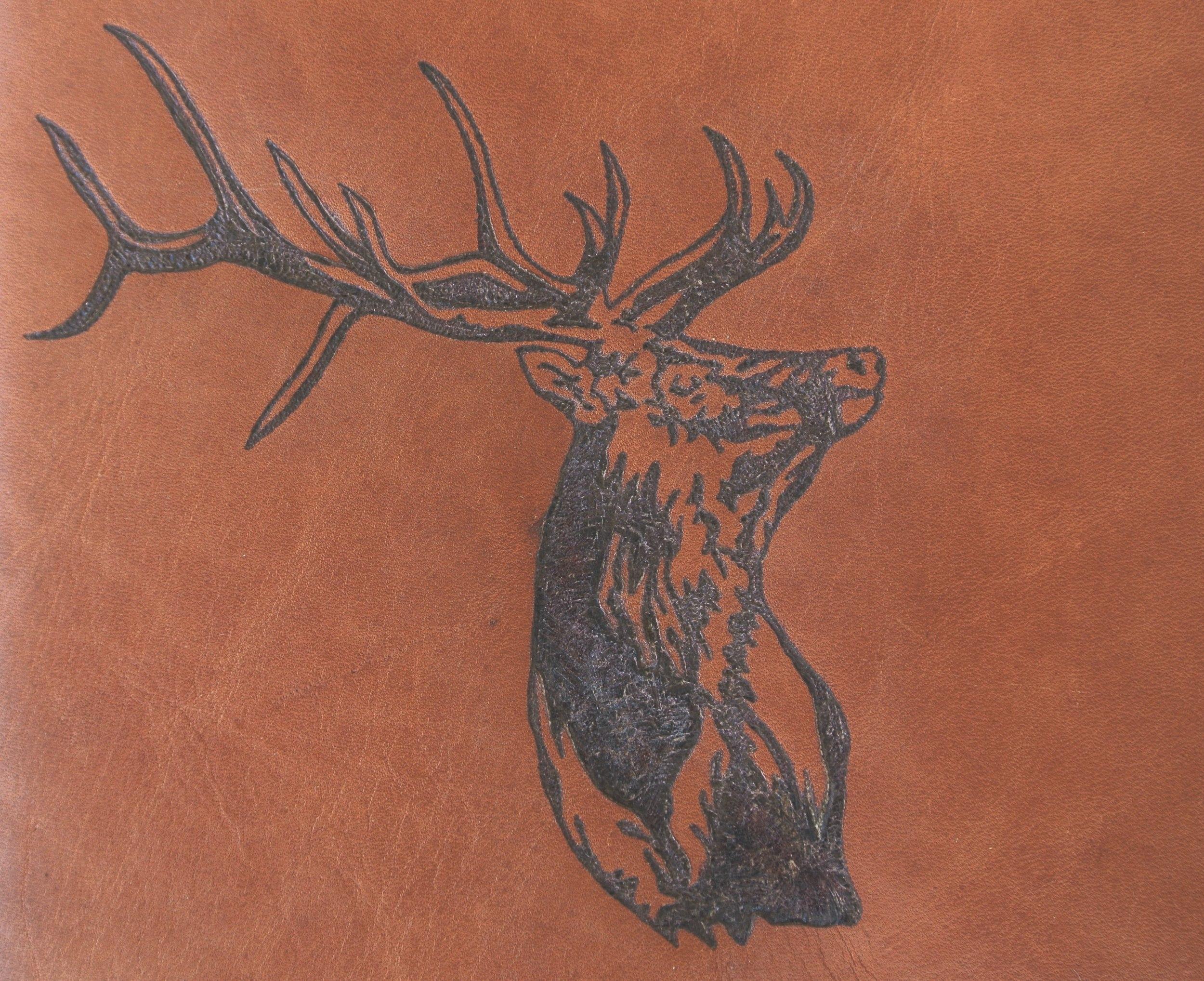 Circle M-Brand heat engraving Elk.JPG