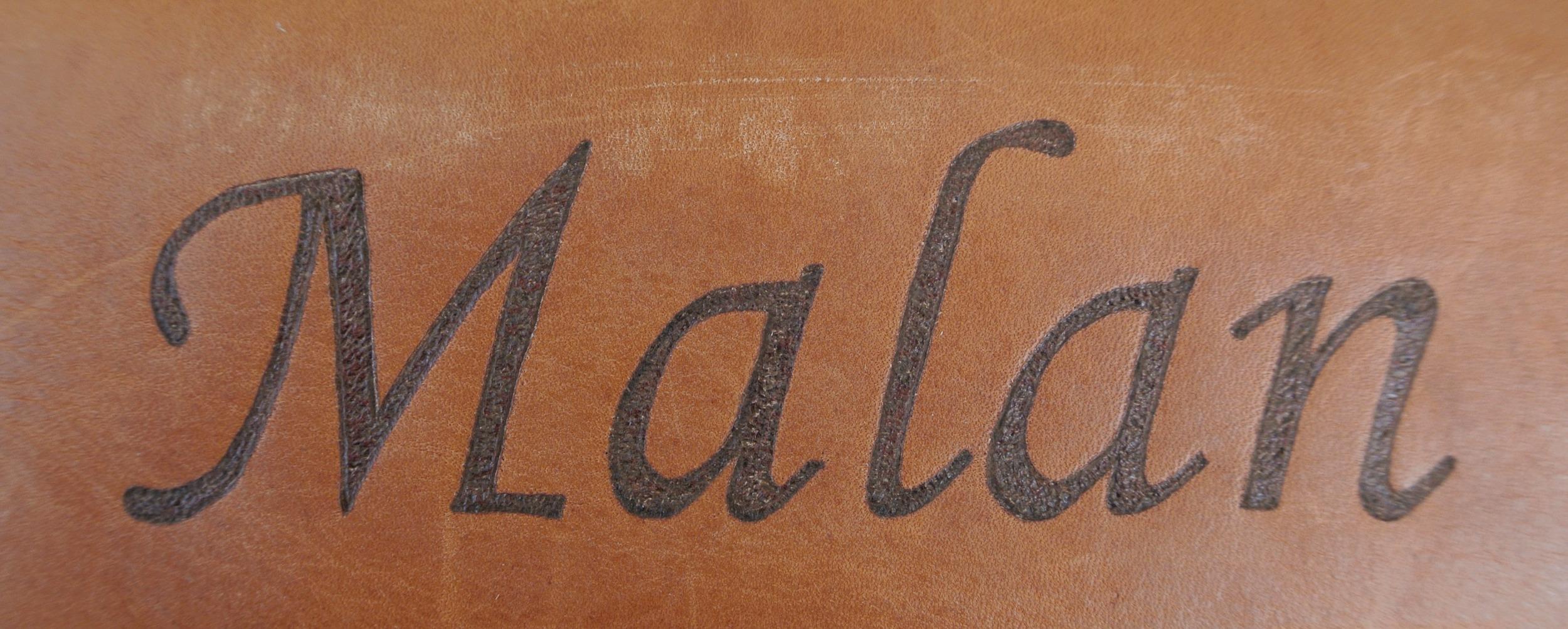 Circle M-Brand heat engraving Last Name.JPG
