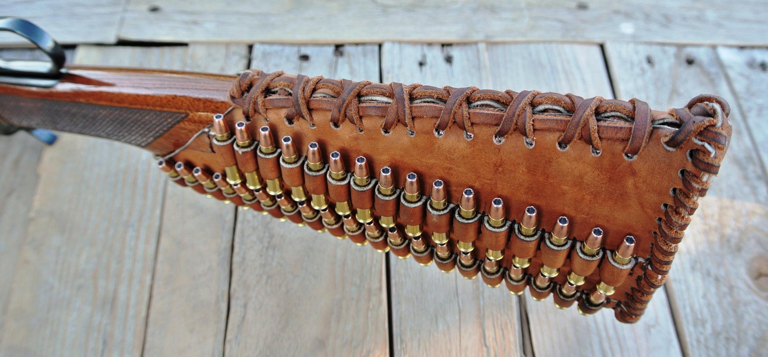 Circle M Brand - .22 Magnum Ammo Holder Buttstock.JPG