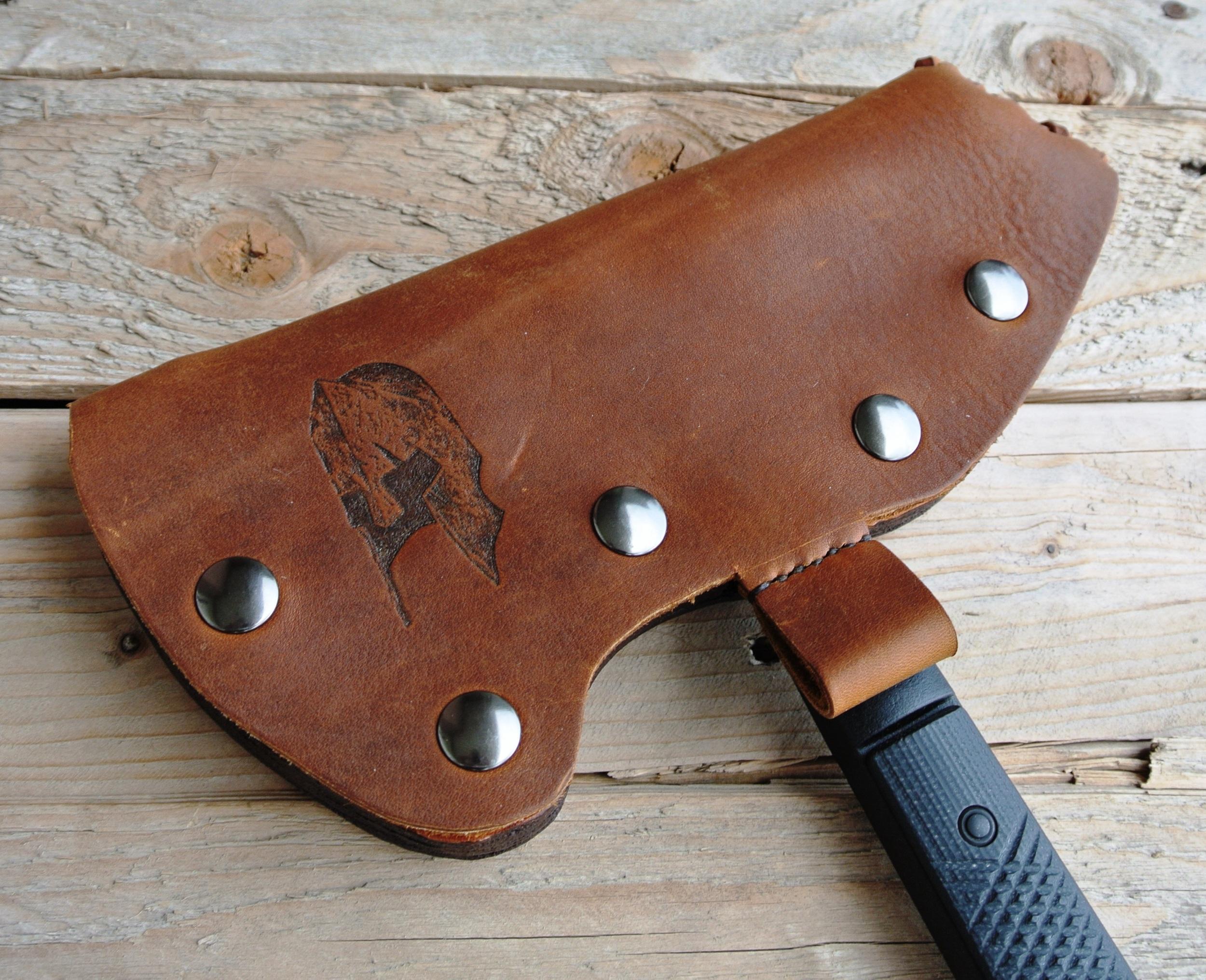 Leather Sheath - Hatchet!