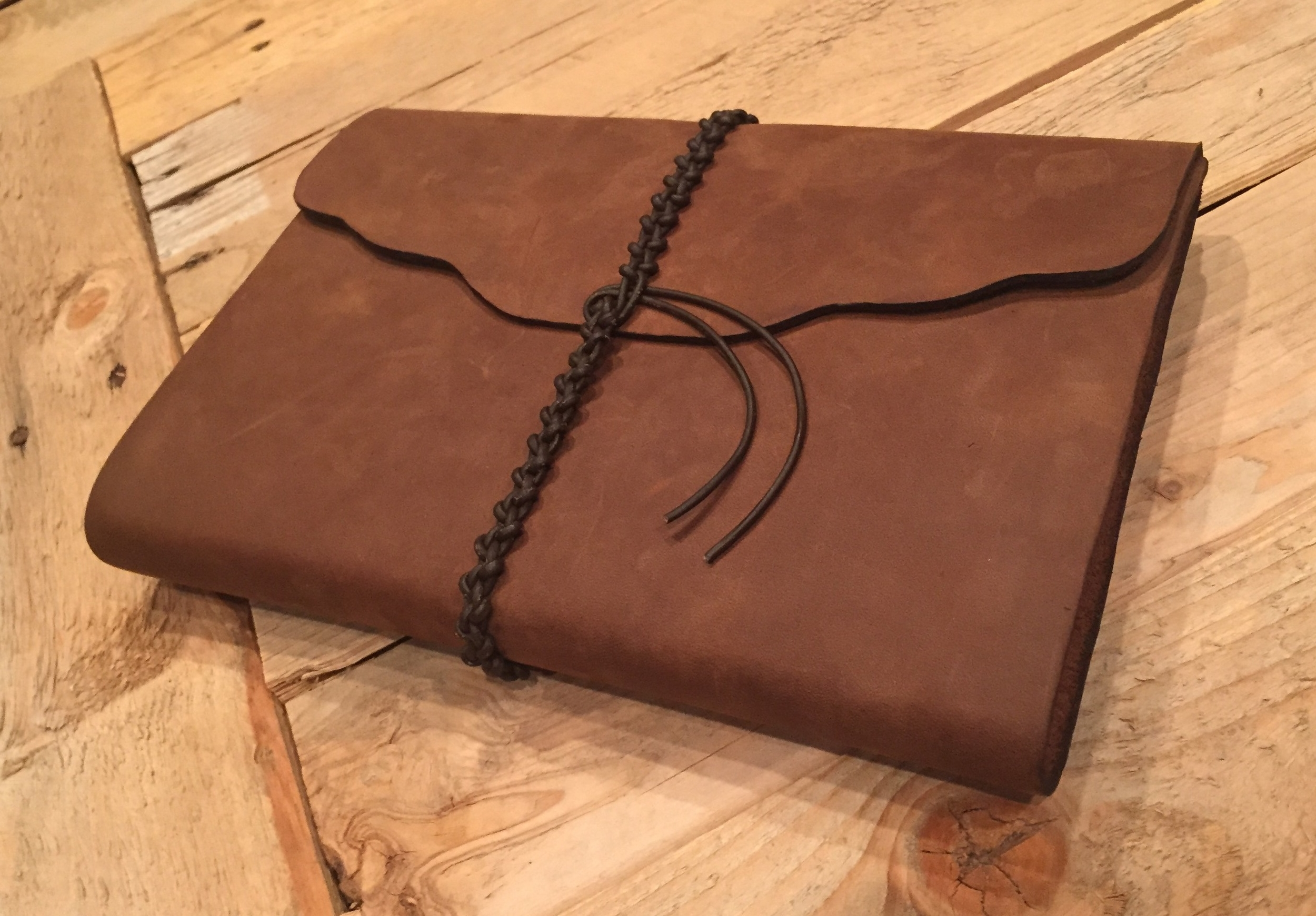 Circle M Brand - Custom Leather Journal.JPG