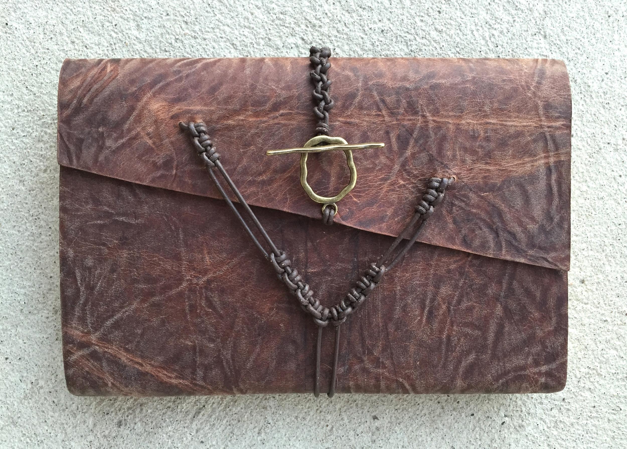 Circle M Brand - custom leather ESV Bible.JPG