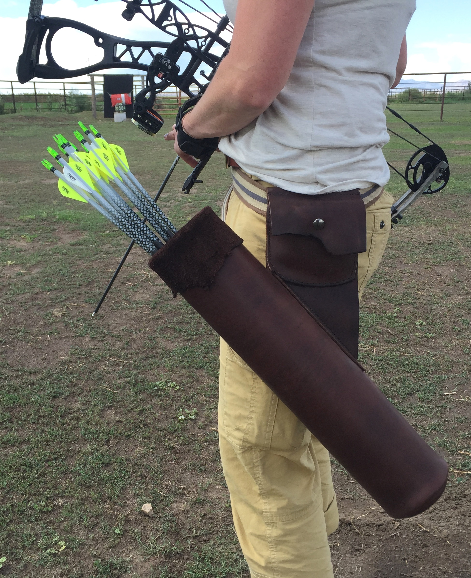 Leather Arrow Quiver