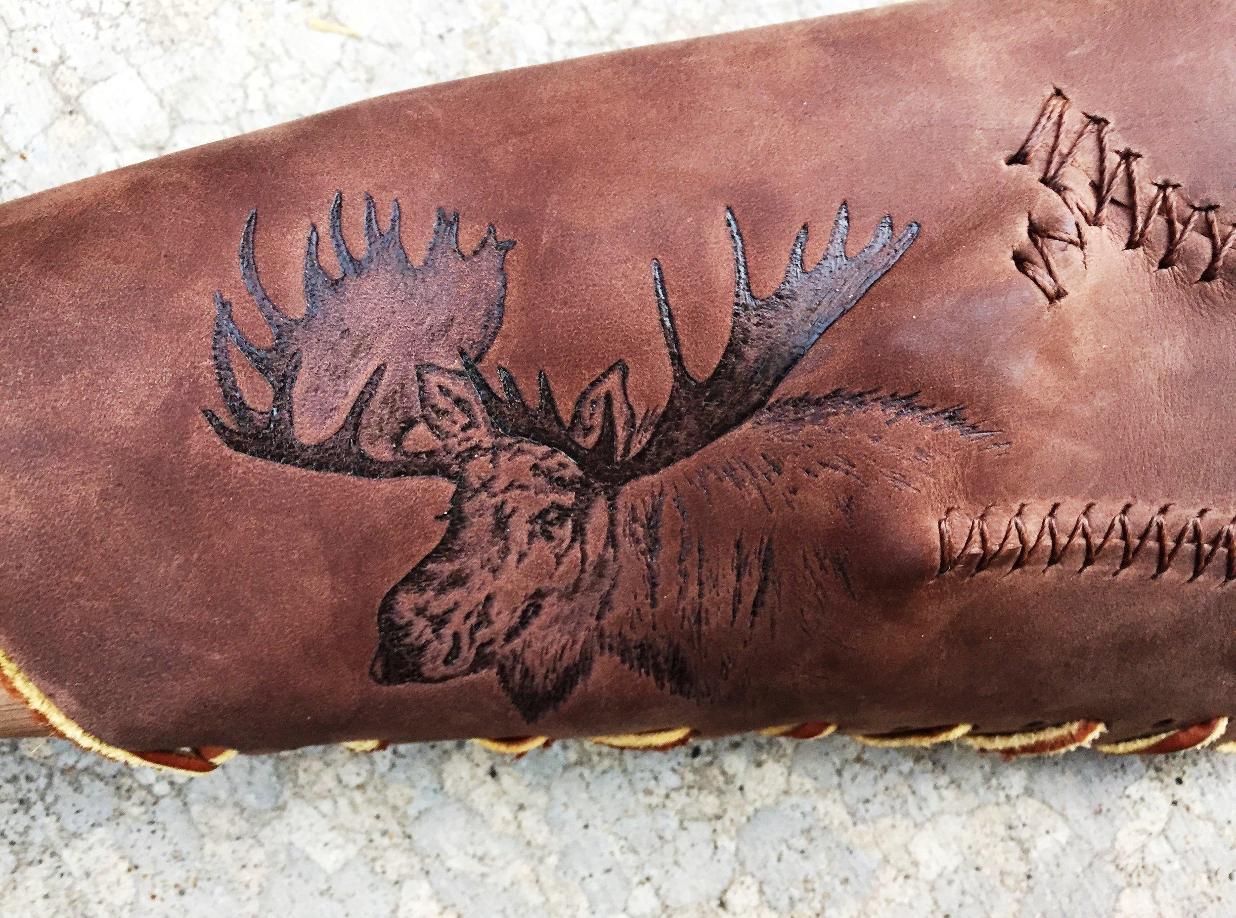 Circle M Brand - Moose - custom heat engraving.JPG