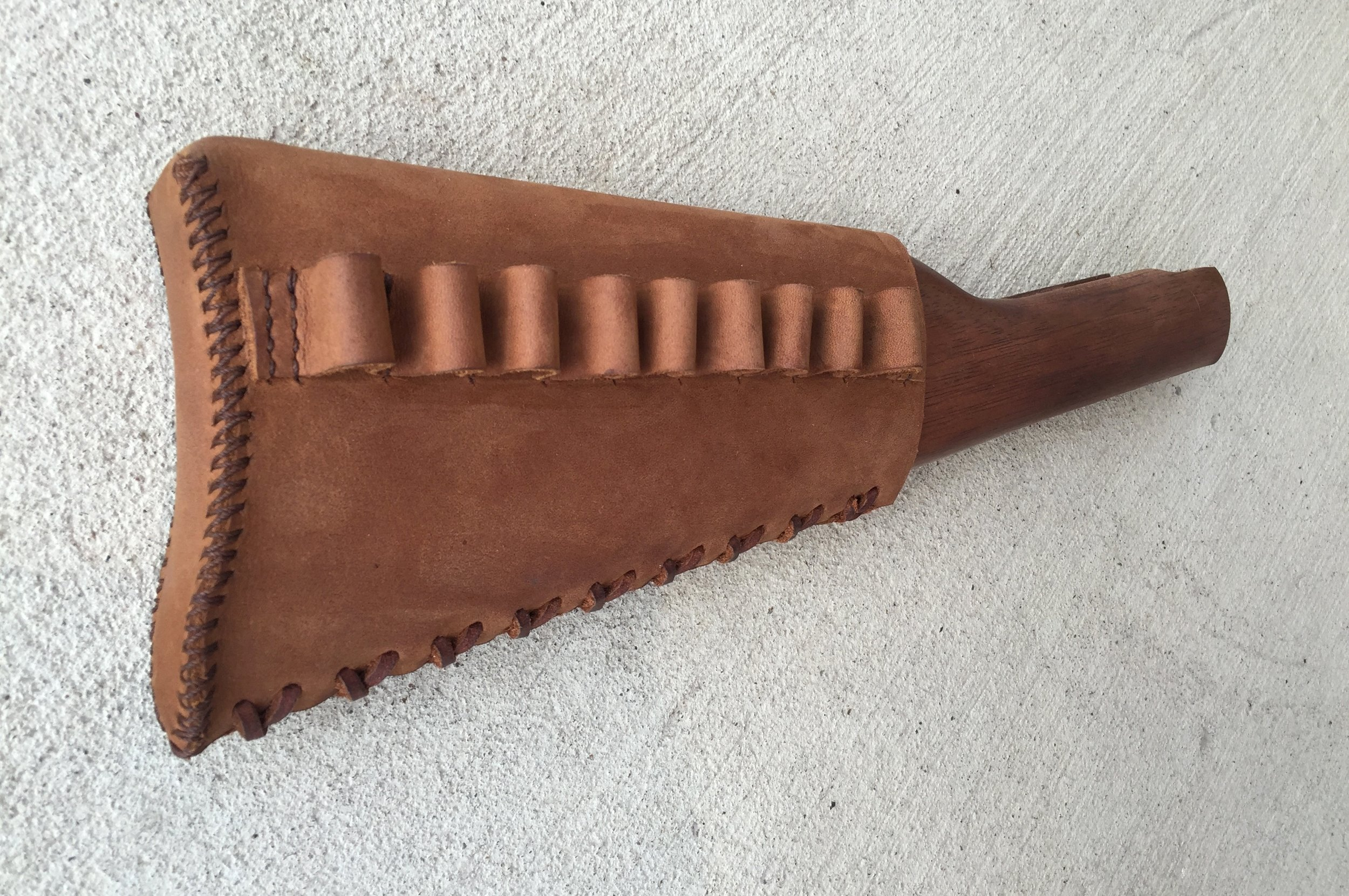 Circle M Brand - leather Buttstock Cuff (fully enclosed).JPG