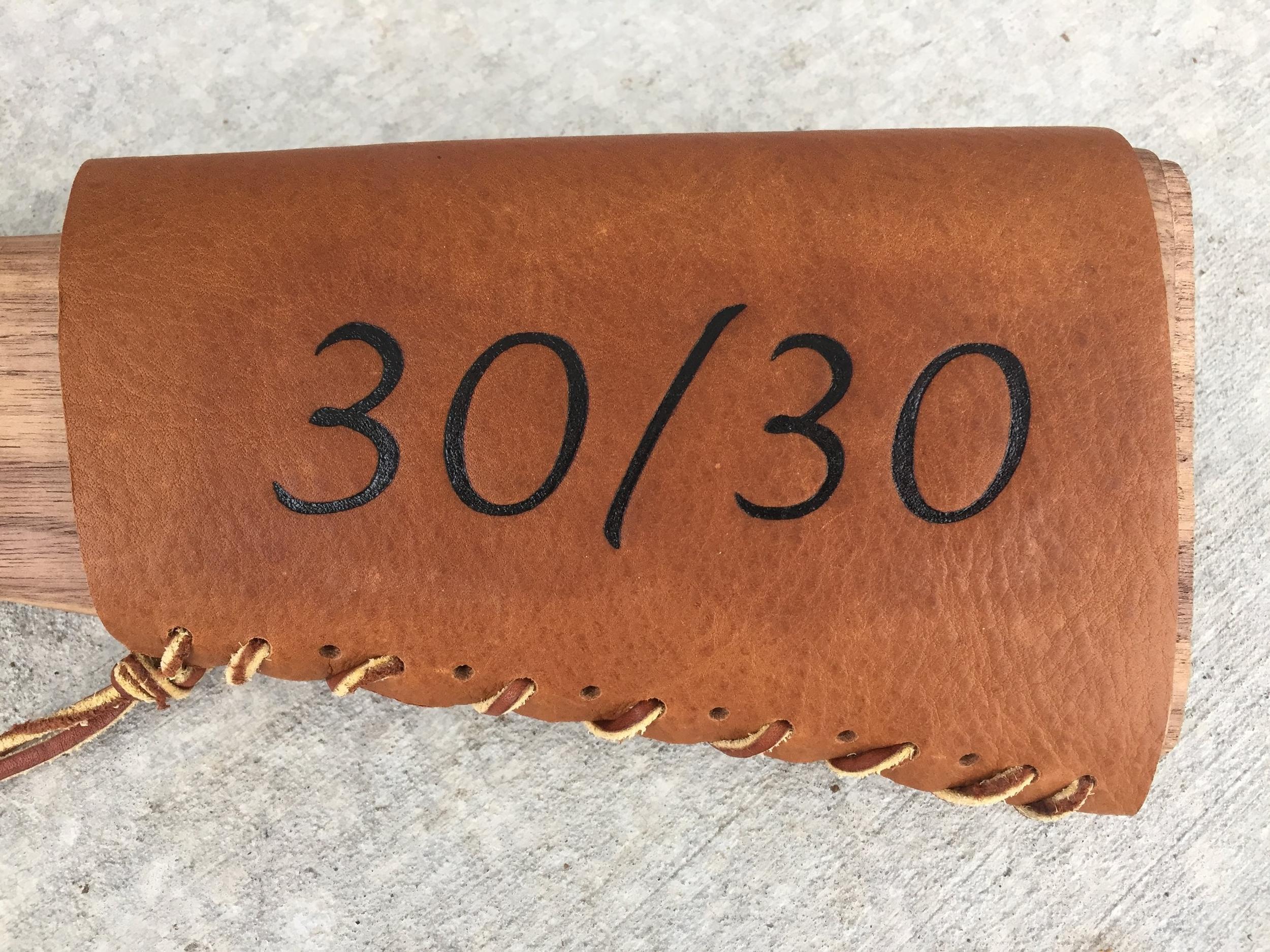 Circle M Brand - 30-30 leather Heat Engraving.JPG
