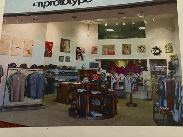 Our first store located in Windward mall opened in 2001. . . . #prototype  #prototypehawaii  #inspirecreativity #alohafromhawaii #alohastate