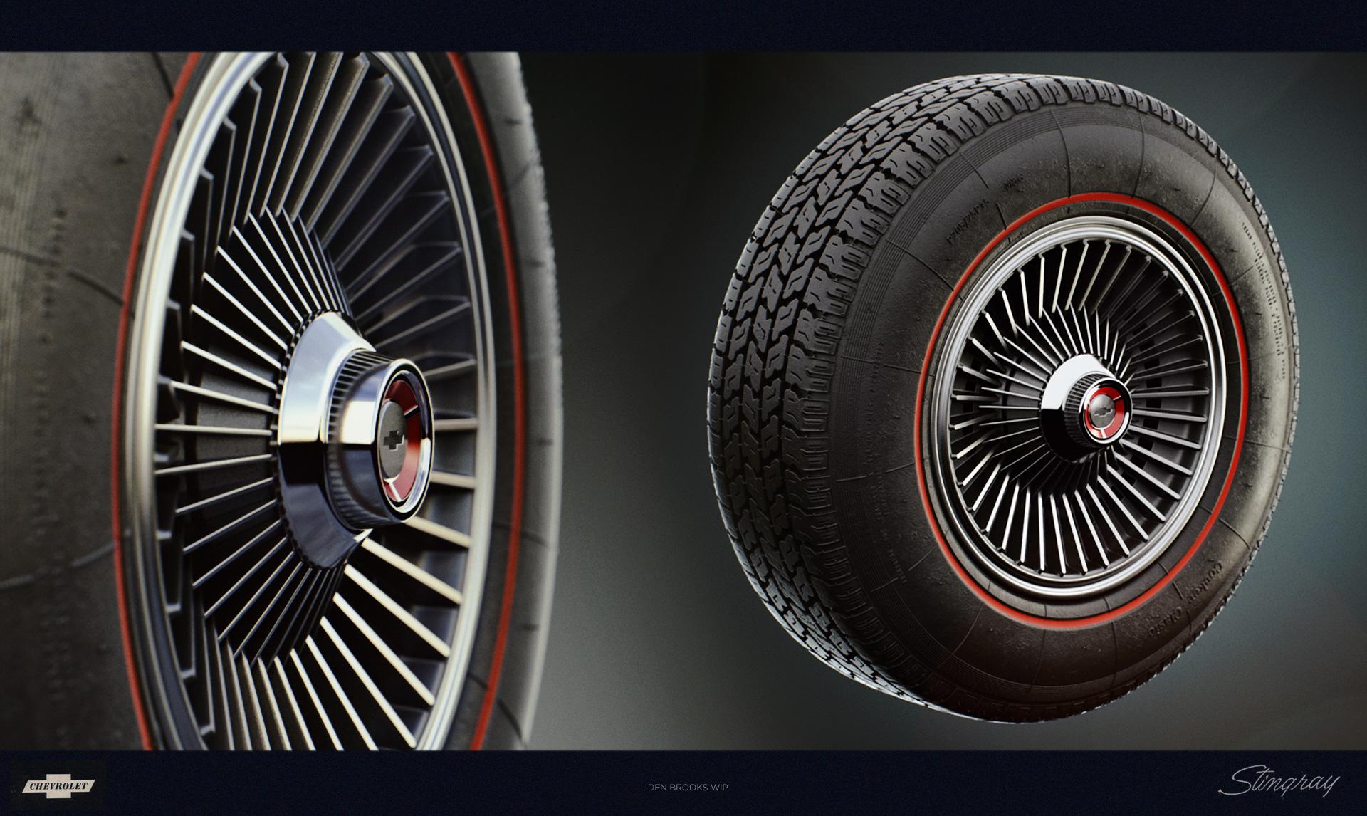 tire + wheel