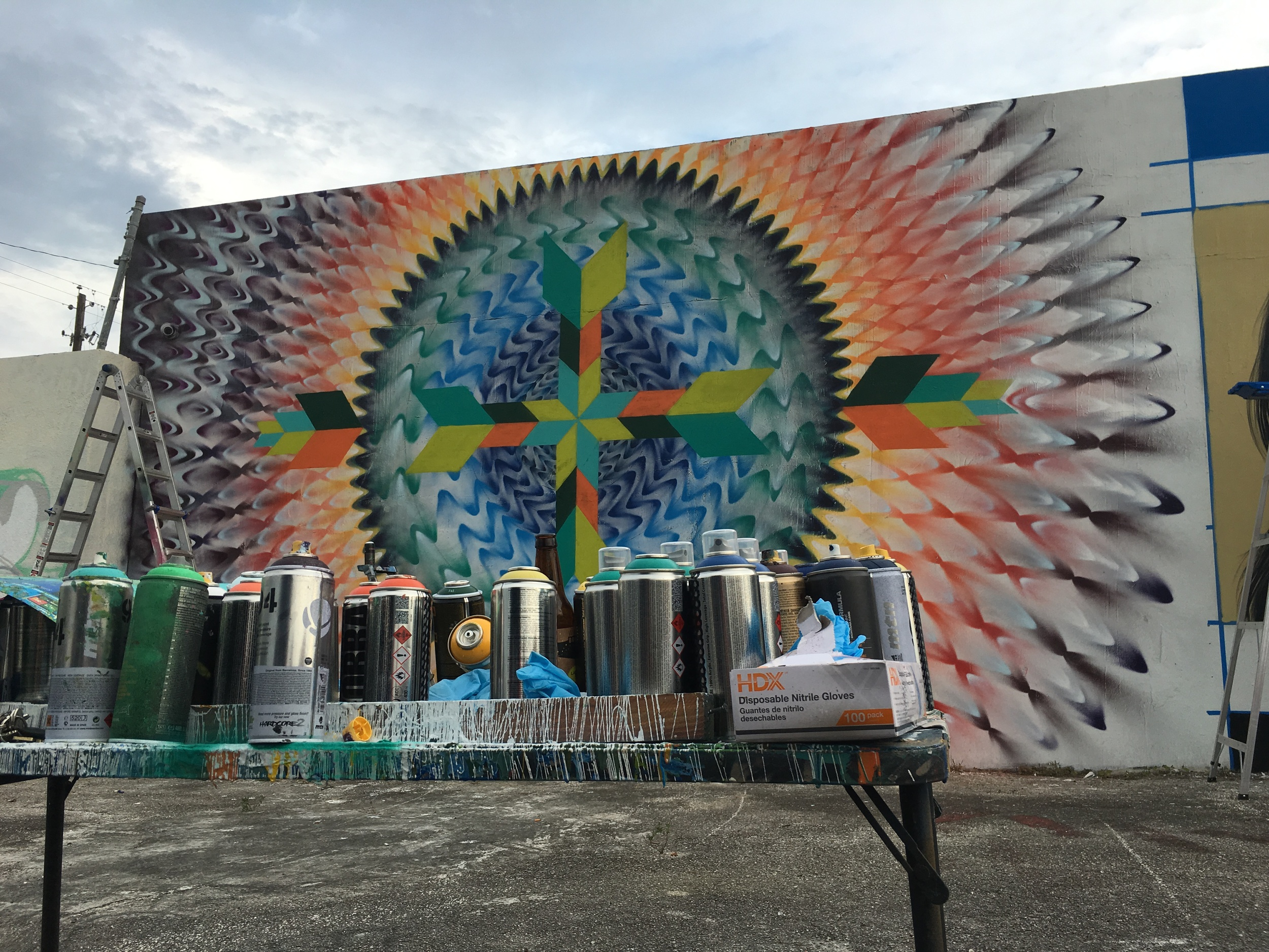 WYNWOOD WALLS HOXXOH COLLABORATION, MIAMI - 2016
