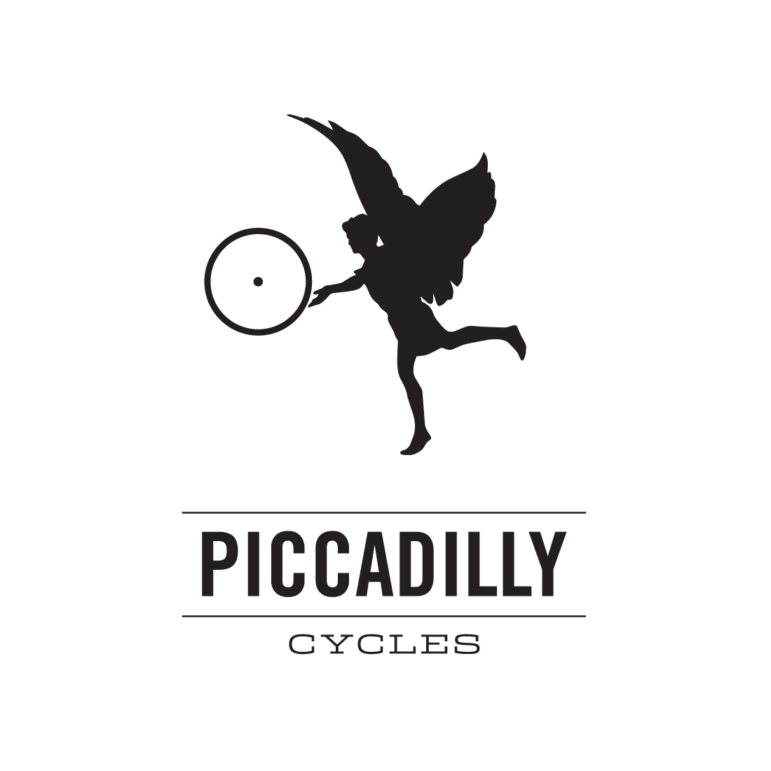 Piccadilly Cycles logo by Mark Mularz, Flip Design