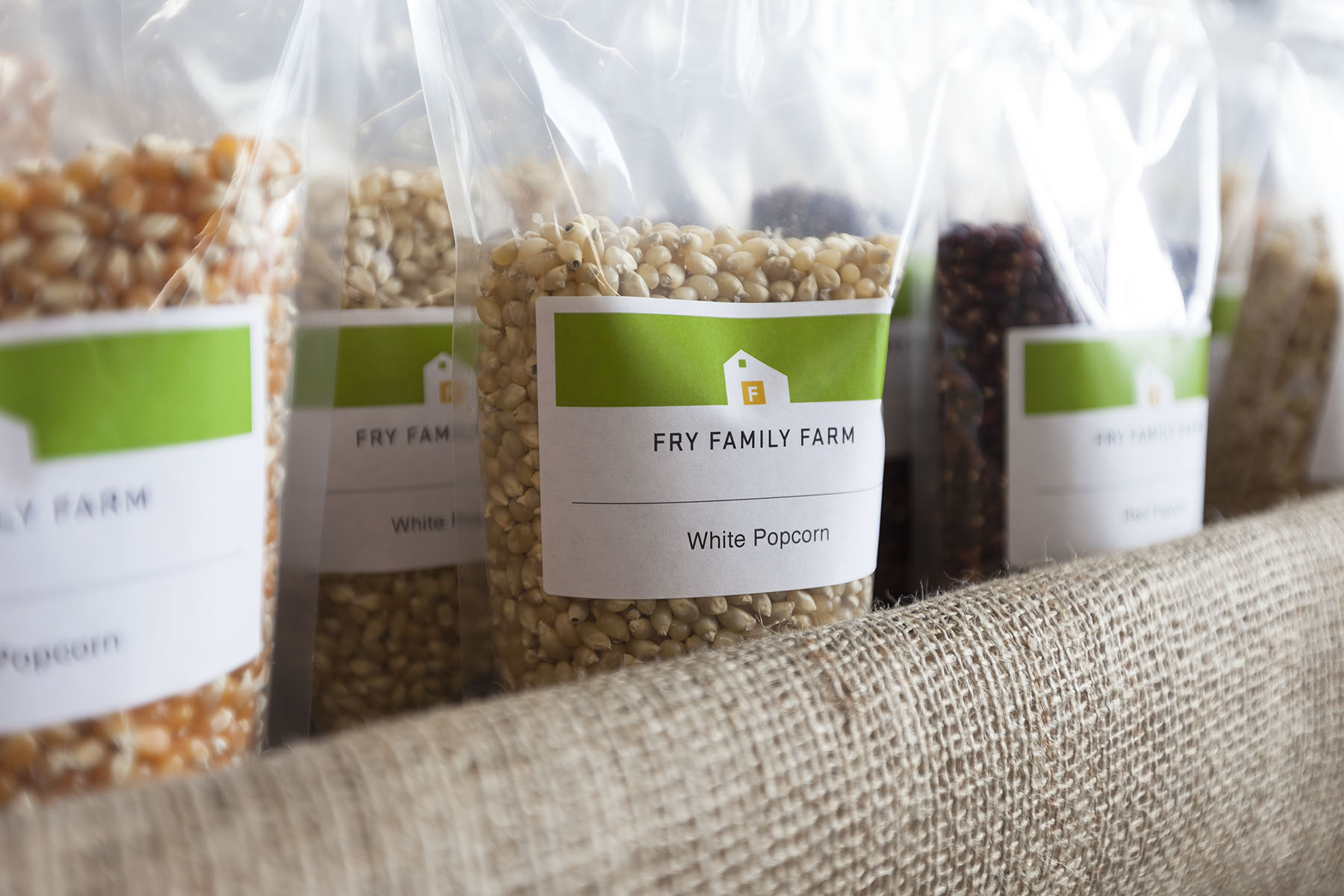 Mark Mularz from Fetch Design designed packaging for Fry Family Farm of Ashland, Phoenix, Talent and Medford.
