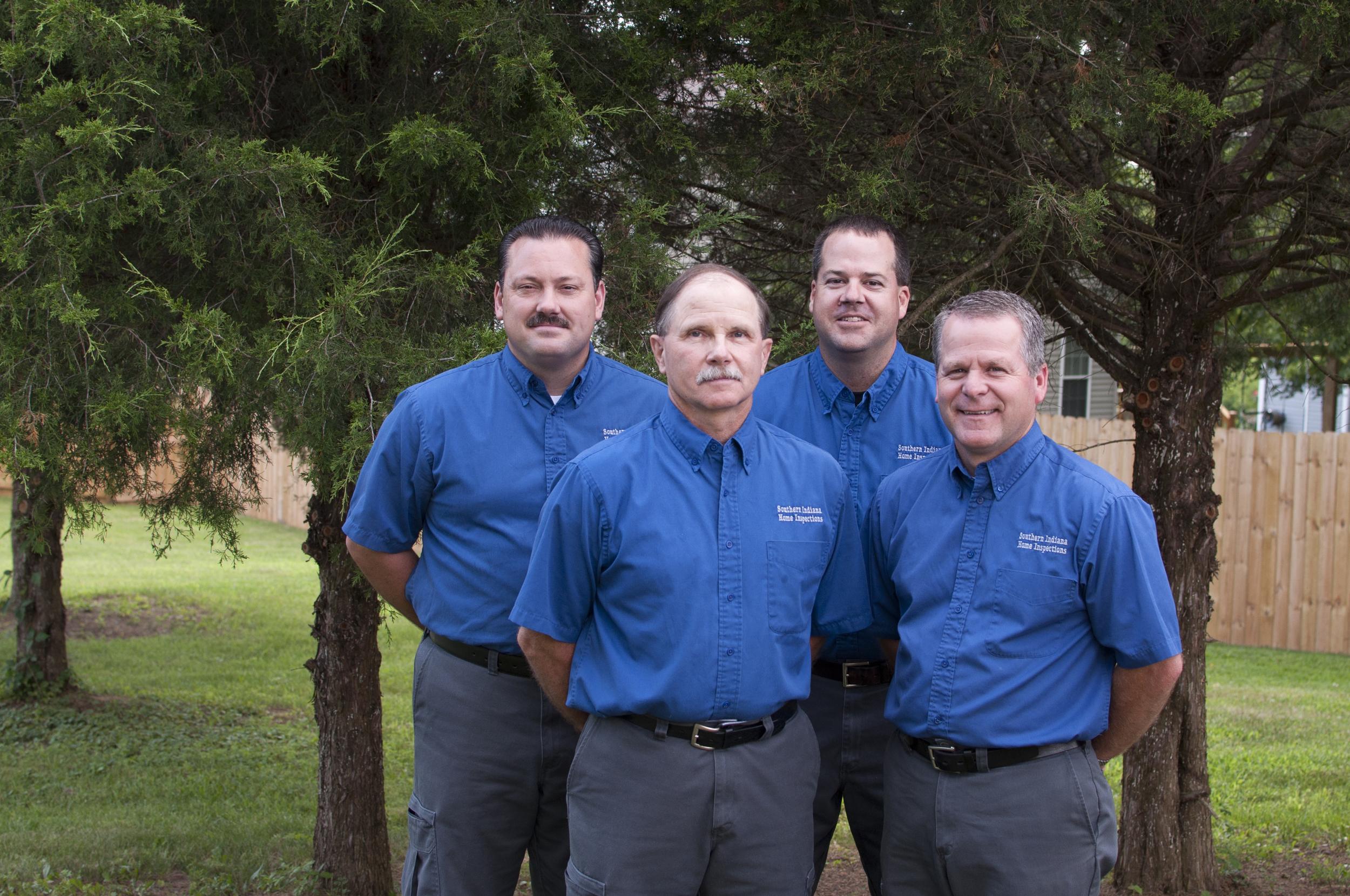 From left to right: Faron Lake, Ralph Barger, Matt Gilmore, Scott Myers.