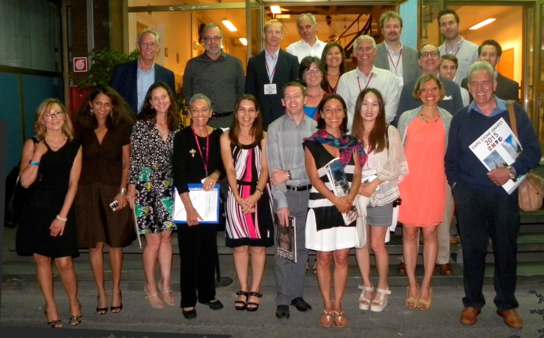 The delegates of Carrara 2015 ...