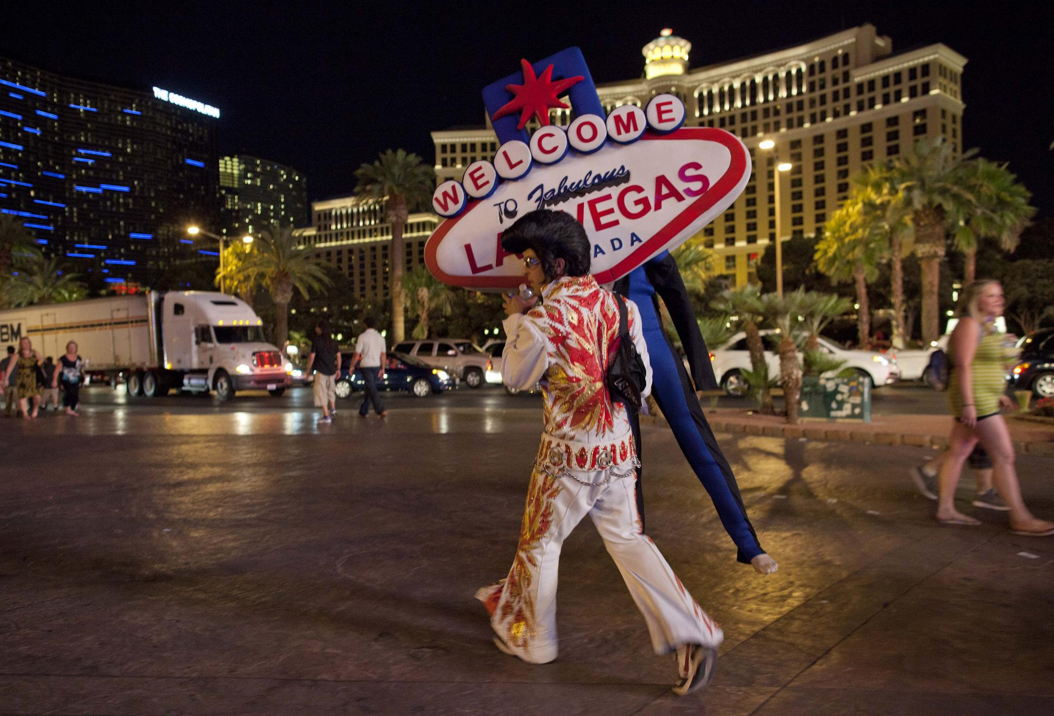 Elvis...It's Vegas, He's Everywhere