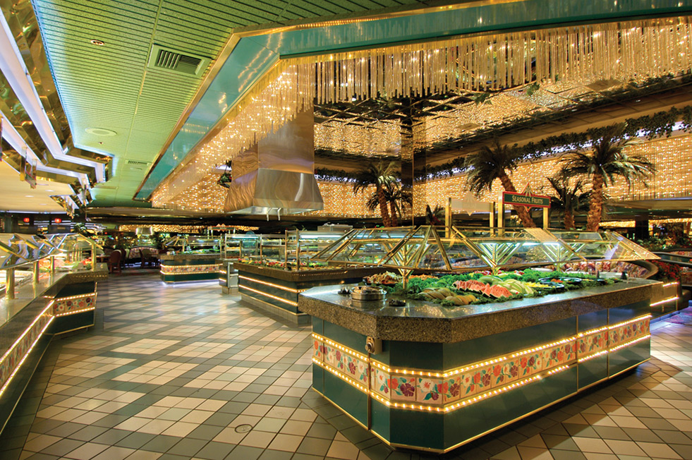 Old school Vegas buffet!