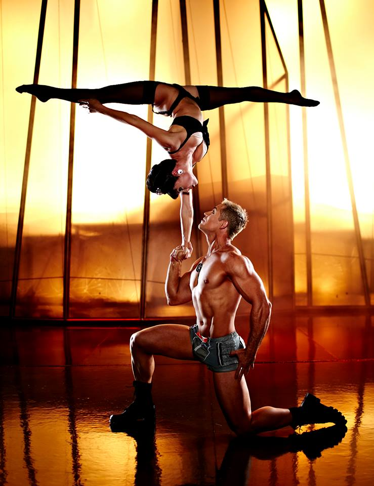 Zumanity at New York New York Las Vegas. The Sensual Side of Cirque du Soleil.