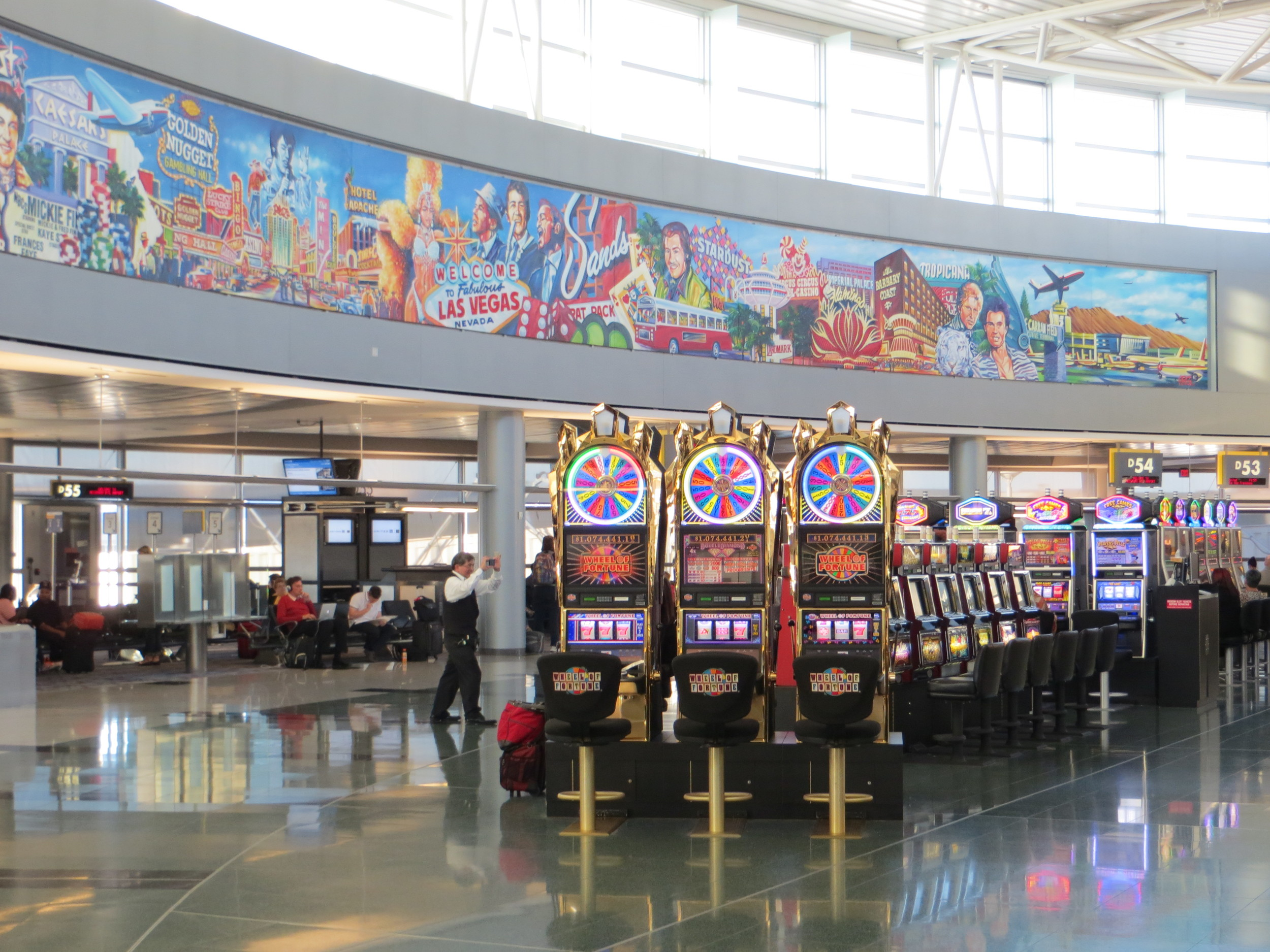 McCarran Airport Las Vegas. Vegaster Tip: It's always busy!
