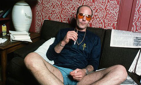 "Hunter S. Thompson ""recovering""."