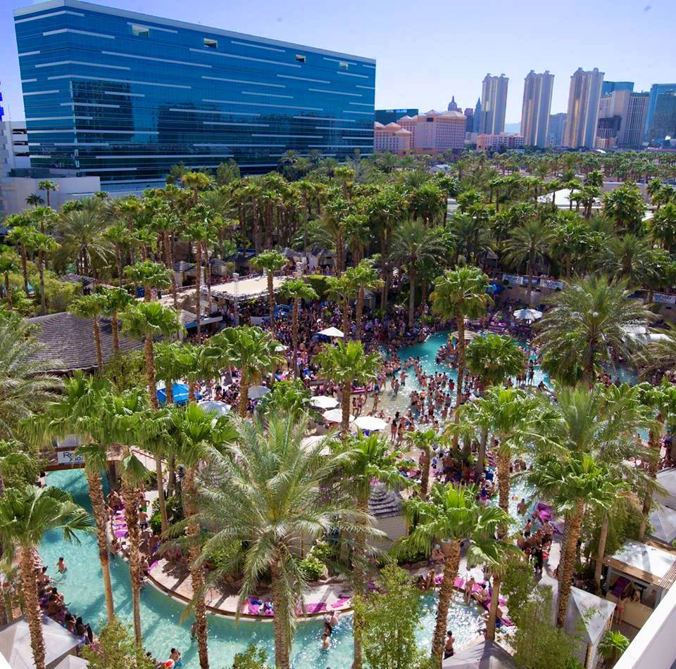 This is not an Oasis, it REHAB at the Hard Rock Hotel and Casino.
