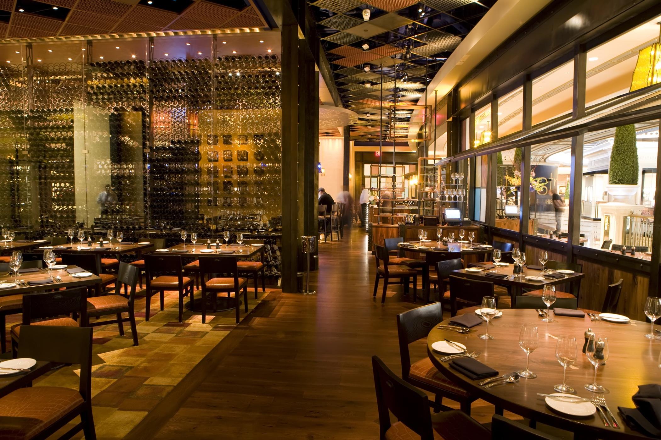 High-class dining at a high-classjoint.