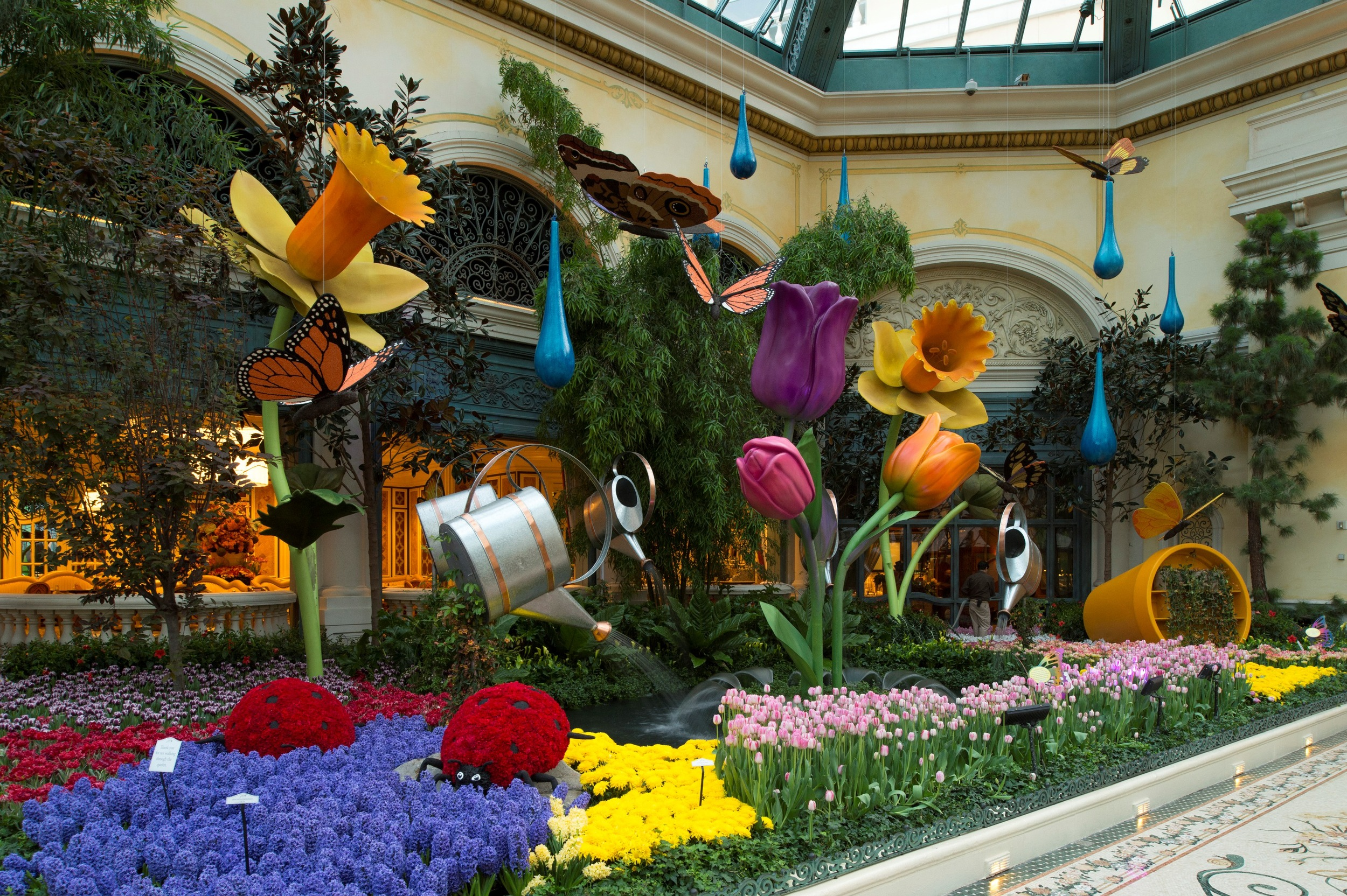 Bellagio offers a change of pace from the Vegas strip.