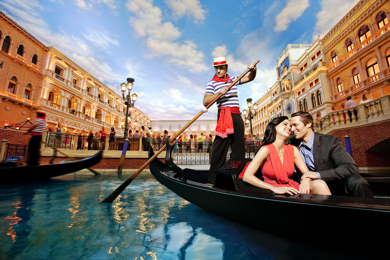 Once in a lifetime gondola ride...indoors.