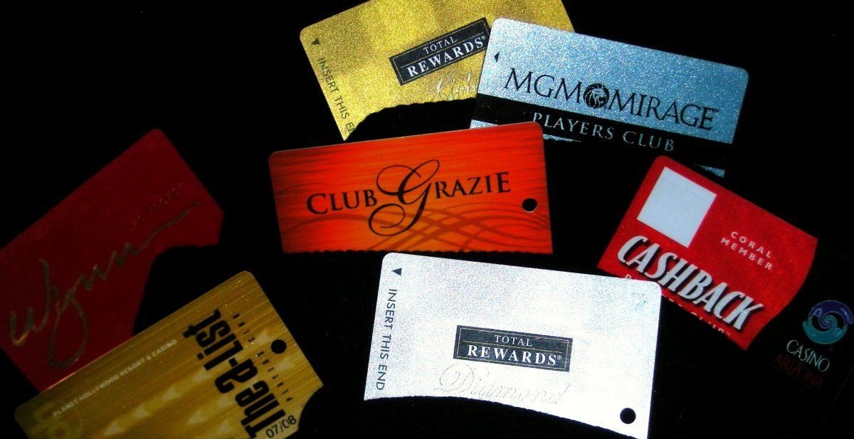 Just a few of the VIP cards you can get.