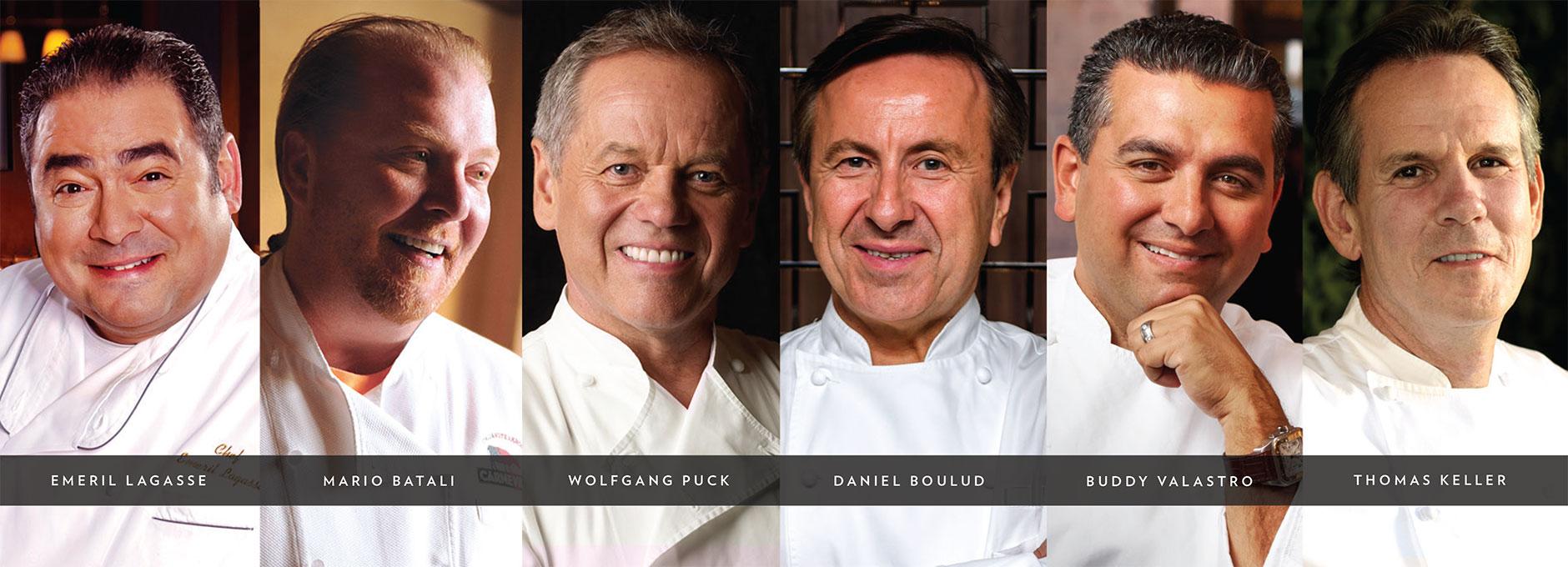 Vegaster 7 Vegas Celebrity Chefs