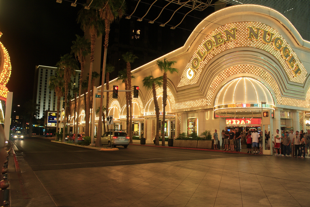 Golden Nugget Hotel & Casino on Fremont Street