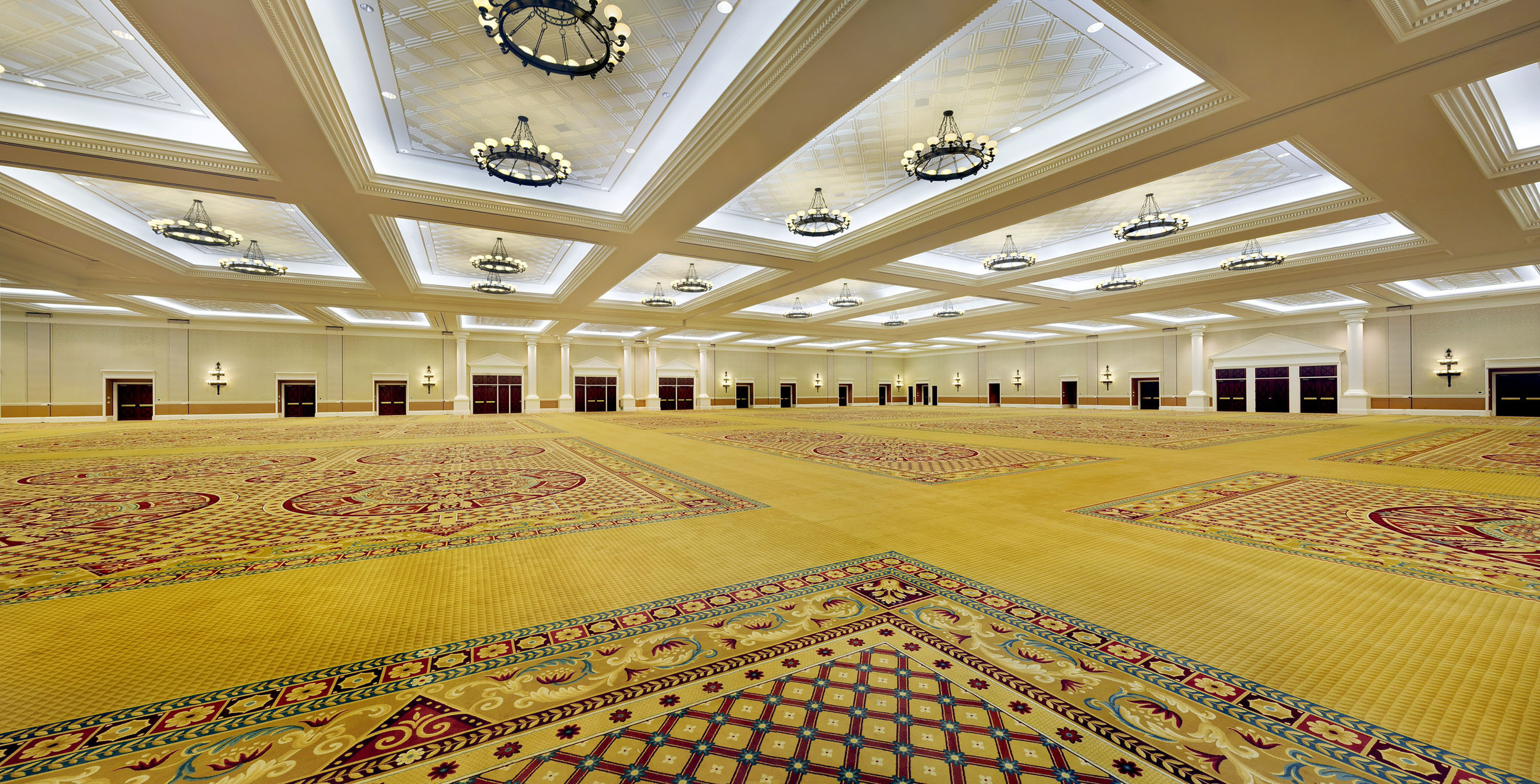 Ceasars Place Ballrooms mean buisness.
