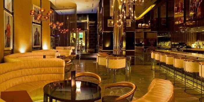 Fizz Ultra Lounge Inside Ceasars Palace Las Vegas