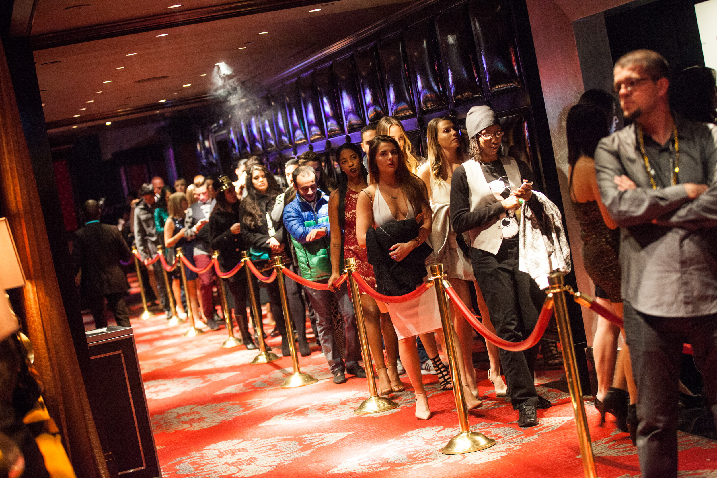 VIP does not alwaysmean missing the long lines. Using Vegaster Does!