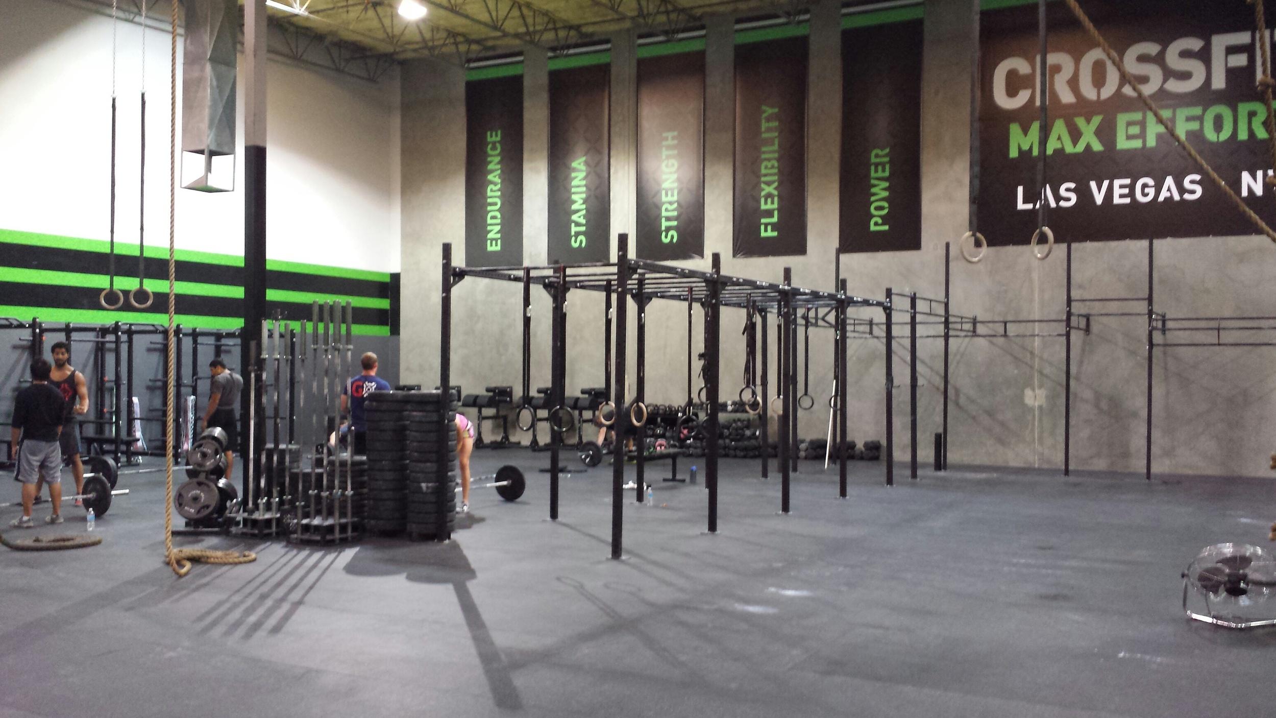 CrossFit Max Effort Las Vegas