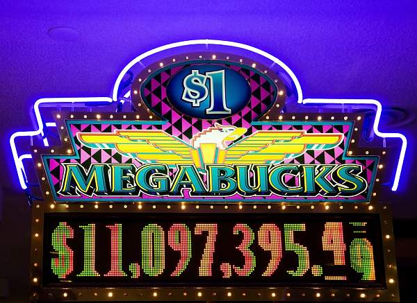 Bet Max! That's the only way to hit the Mega Jackpots.