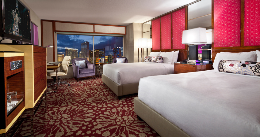 MGM Grand Stay-Well double queen room
