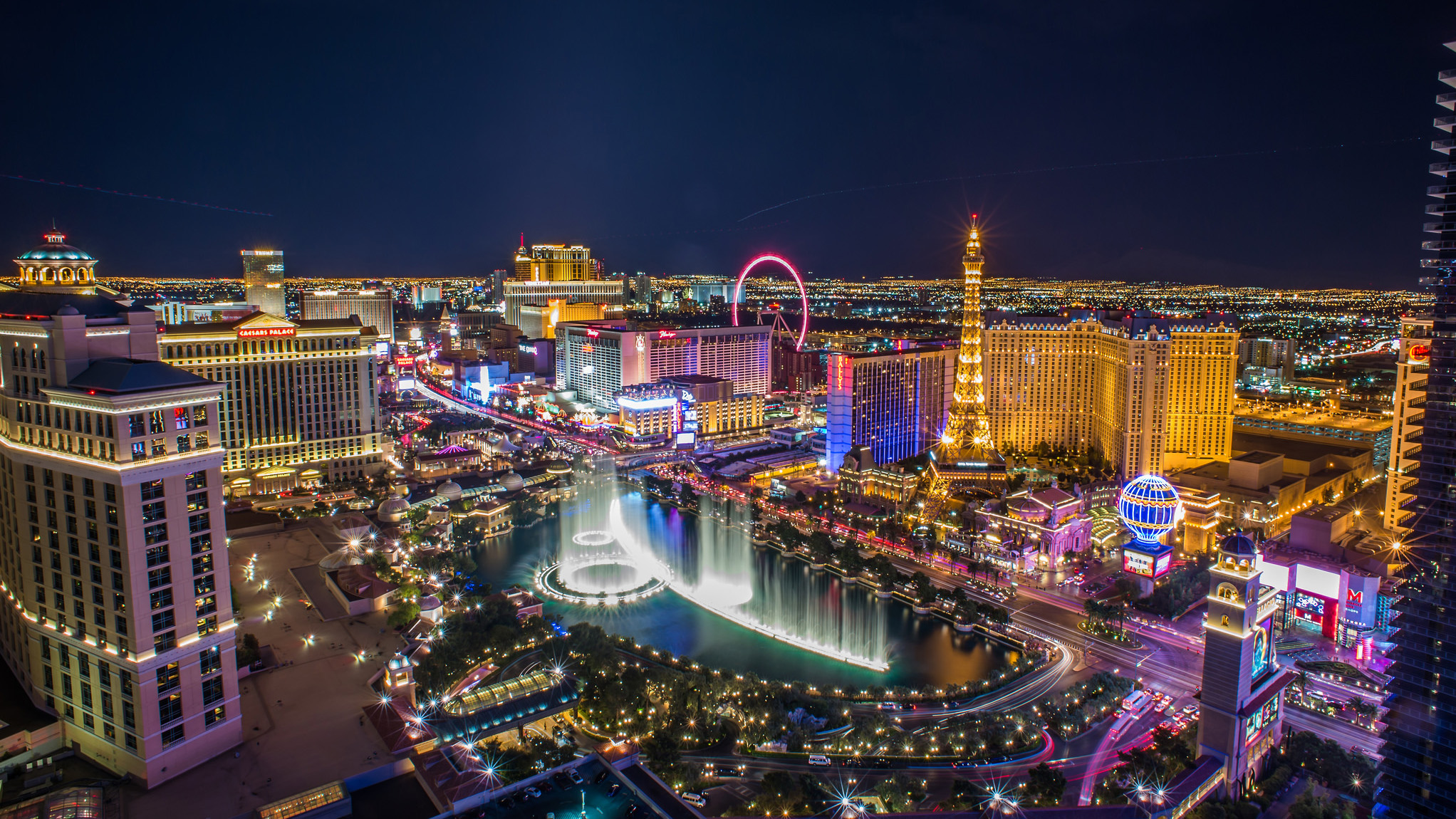 The World Famous Las Vegas Strip