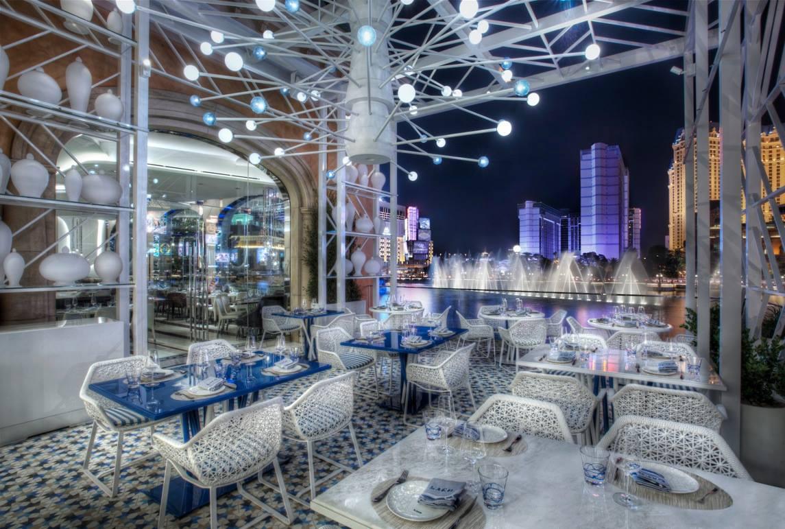 Lago by Julian Serrano at Bellagio Hotel and Casino.