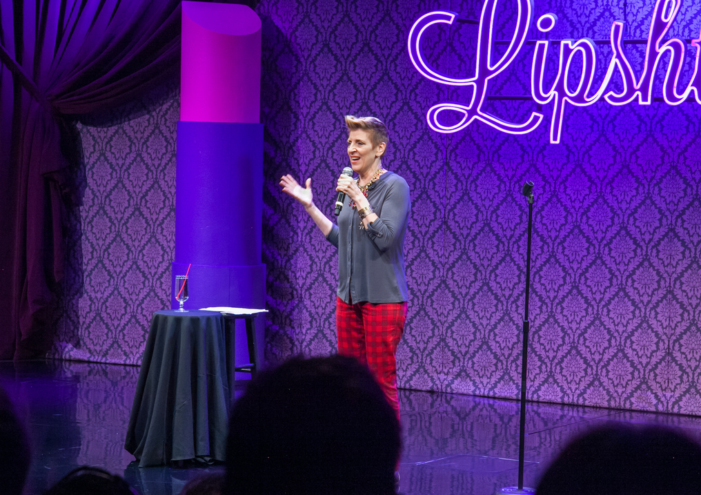 Lisa Lampanelli at Lipshtick showing at The Venetian Las Vegas