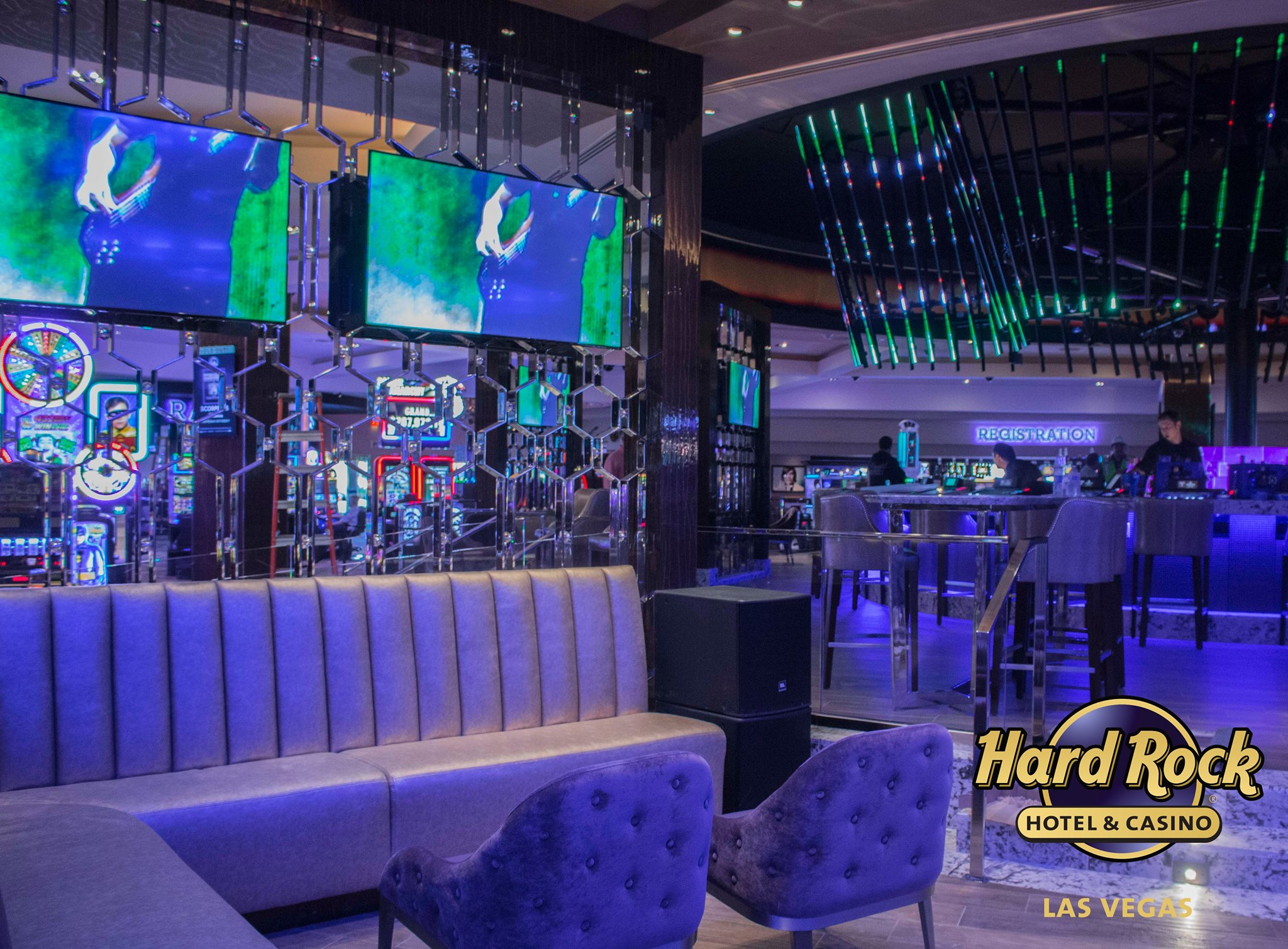 The Hard Rock Hotel & Casino Center Bar