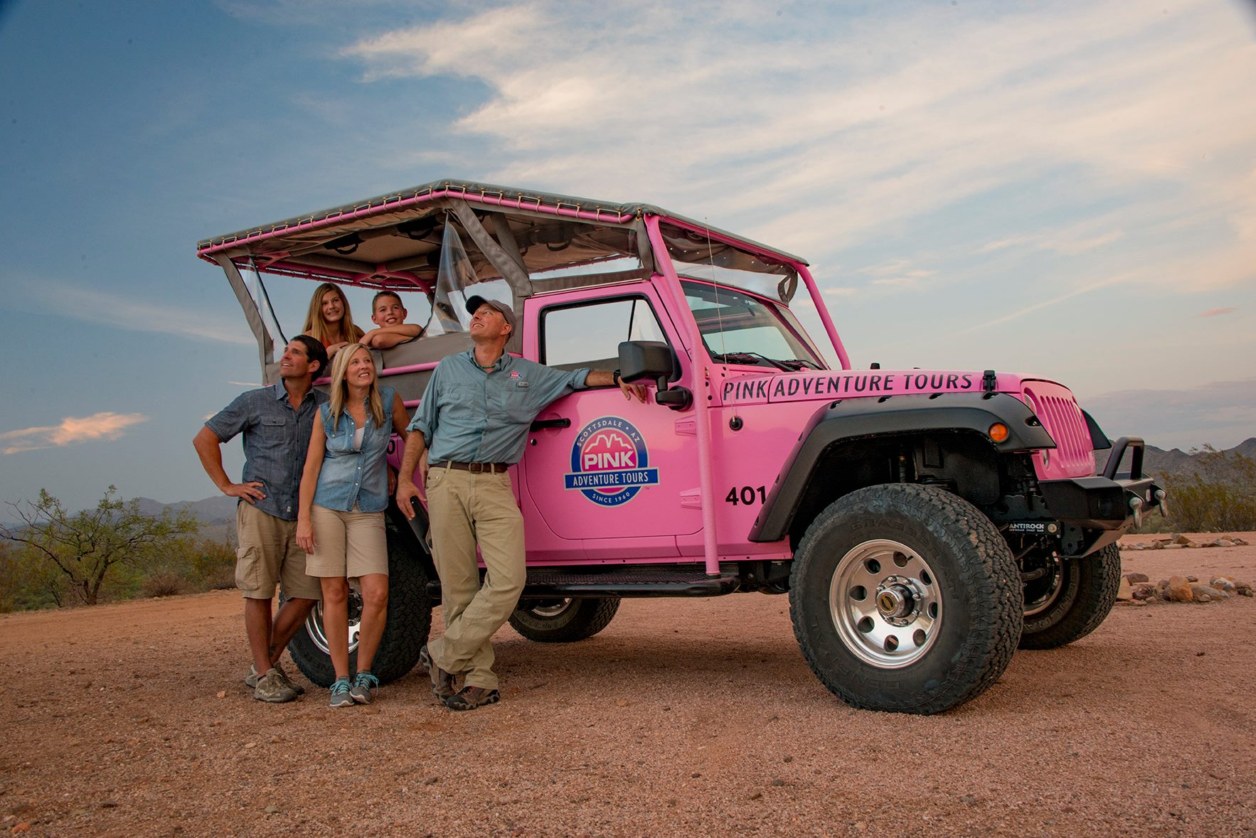 Pink Jeep Tours to the Grand Canyon