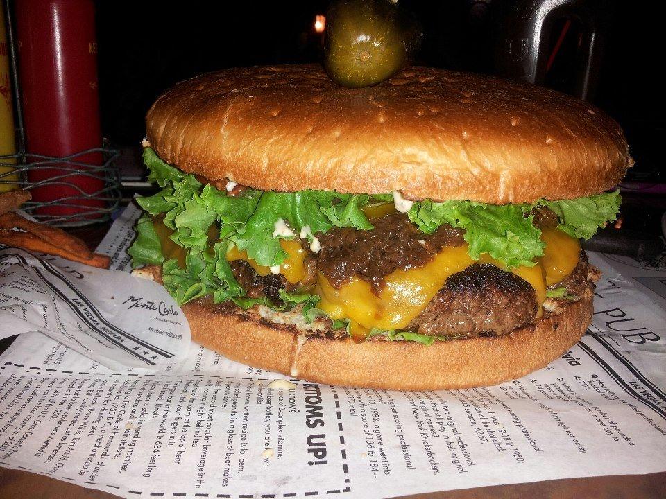 The Pub @ Monte Carlo Burger Challenge
