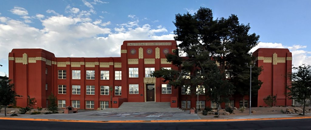 Las Vegas High School built in 1930