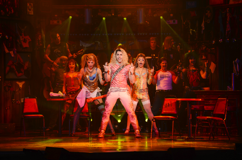 Rock Of Ages Now Playing at the Rio All Suites Hotel & Casino