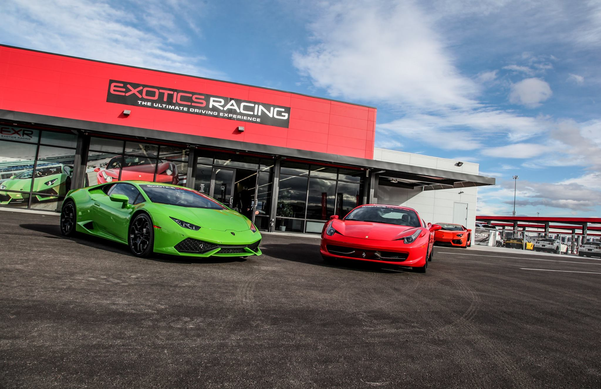 Exotics Auto Racing Las Vegas