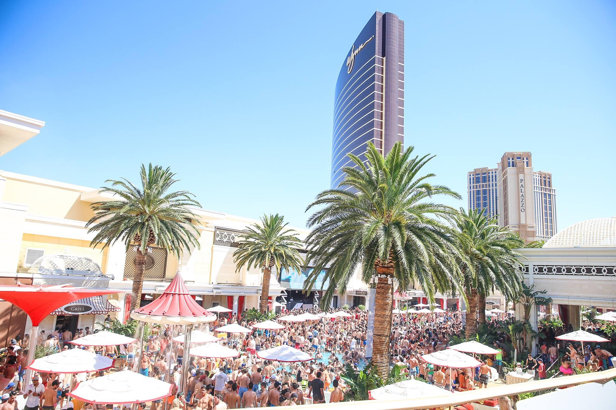 Encore Beach Club Las Vegas Nevada